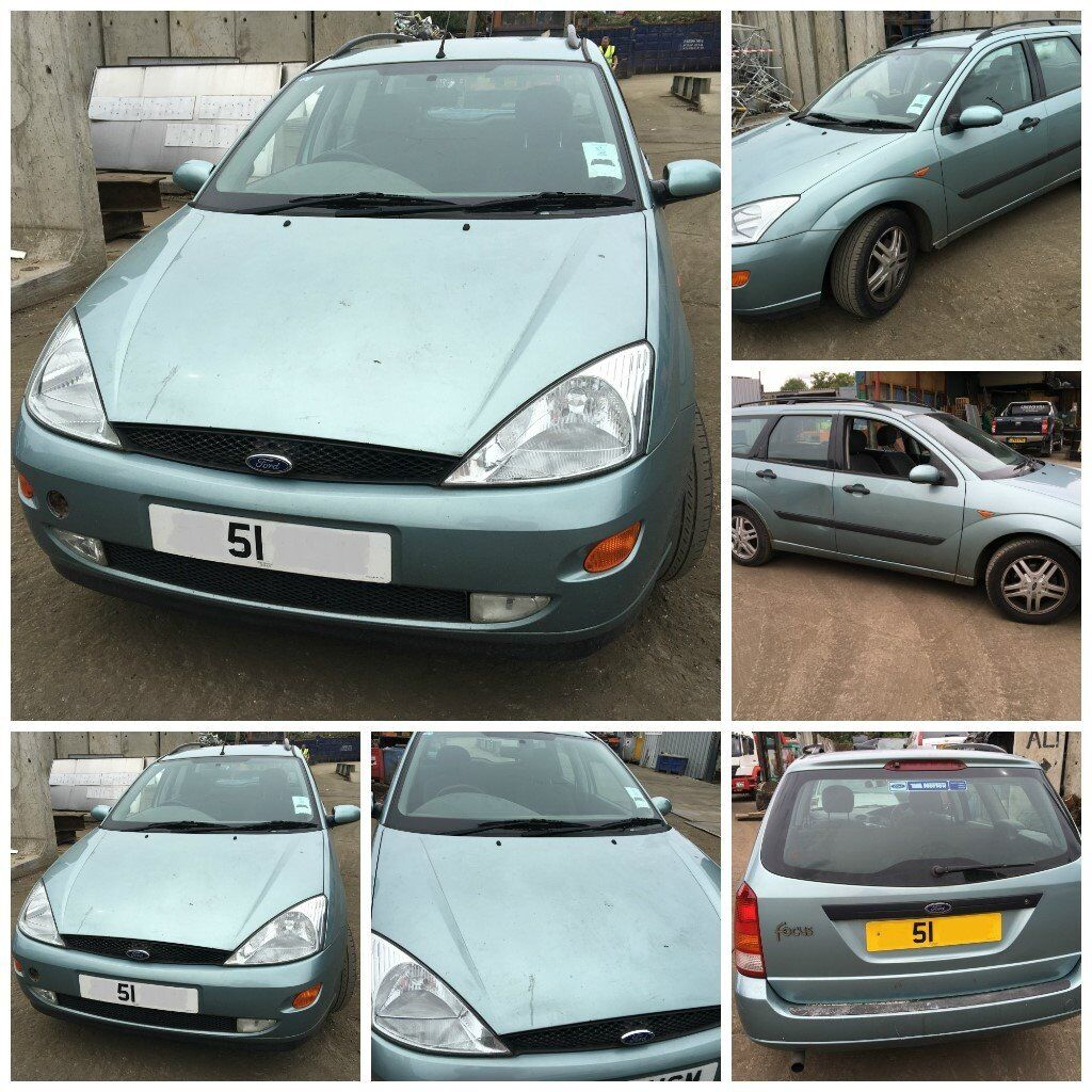 Ford Focus  Doors Light Green  Manual Paint Code U Front Bumper All Parts Available