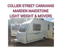 2008 light weight coachman amara 380/2 + motor movers