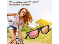Voice Control Bluetooth Polarized Sport Sunglasses Headset Headphone Free Talk