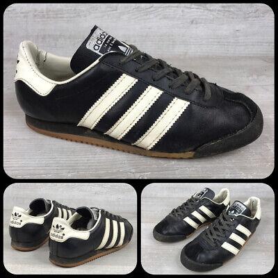 Adidas Kick, Sz UK 5, Vintage 1970's Made in Rumania,