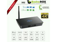 2017 X92 android/smart TV box