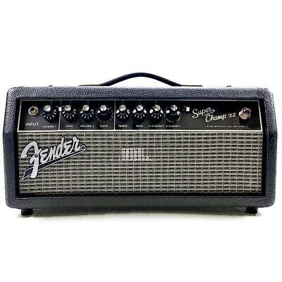 Fender Super Champ X2 HD 15W Tube Guitar Amp Head - Black