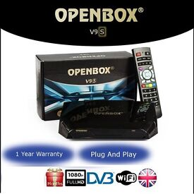 Openbox V9s with 12 months service Plug&play openbox sKYBox v5 v8s f5s f5 f3s f3 European and Arabic