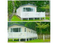 caravan for hire at Haggerston castle, Ultra modern (SOLIEL) caravan to hire/let. in lakefield