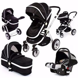 Isafe travel system 3 in 1