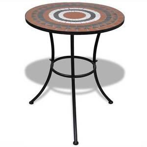 Mosaic Table 60 cm Terracotta / White(SKU 41534) vidaXL Mount Kuring-gai Hornsby Area Preview