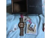 Michael Kors ladies Rose Gold watch MK3595