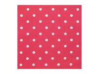 CATH KIDSTON RED SPOTTY OILCLOTH FABRIC / TABLECLOTH * 2 METRES * BRAND NEW ON THE ROLL*