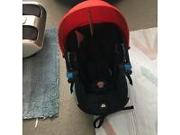 stokke izi sleep car seat excellent condition used 3 times!