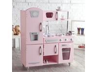 Kidkraft pink vintage kitchen, swa ps or sale!!