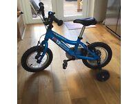 2014 RIDGEBACK MX12 12inch Wheel Boys Bike in Blue