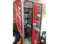 Coca Cola drink fridge