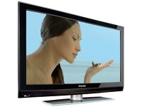 "Philips 32"" Widescreen HD LCD TV With Remote & Built-In Freeview"
