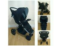 REDUCED britax b mobile with bag / cupholders