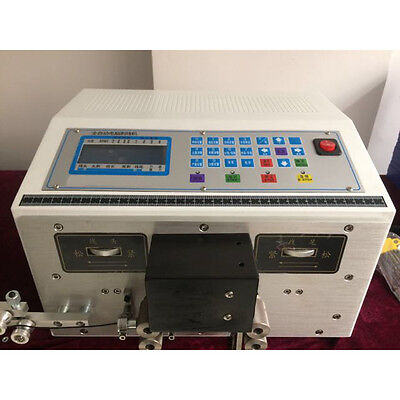 Sto Auto Computer Double Wire Peeling Stripping Machine Cable Cutting 0.1-2.5mm