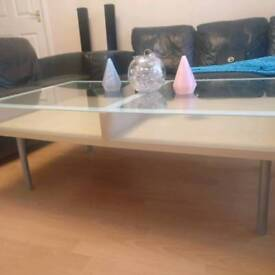 Glass table x