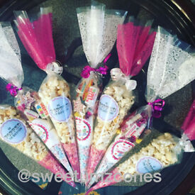 Sweet Cones Party Bags personalised for all occassions!