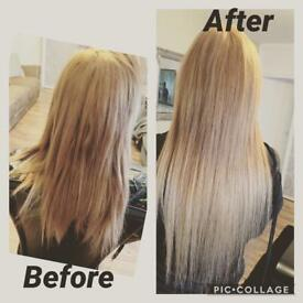 Hair Extension no glue or bonds Coventry