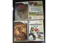 Nintendo Wii games X 8 bundle