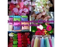 Cutie pie cosmetics and bath bombs