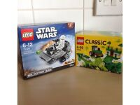 Lego starwars and classic