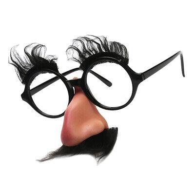 Partybrille Große Nase Augenbrauen Bart Brille Funbrille Spaßbrille Fasching