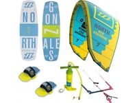 North Mono 9M Kite 2016 and Kiteboarding Package