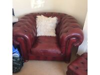 Chesterfield tub chair