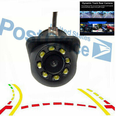 # NTSC/PAL CCD Trajectory Rearview Camera Back Up Parking Camera 12V Universal (Tucson Spectrum)