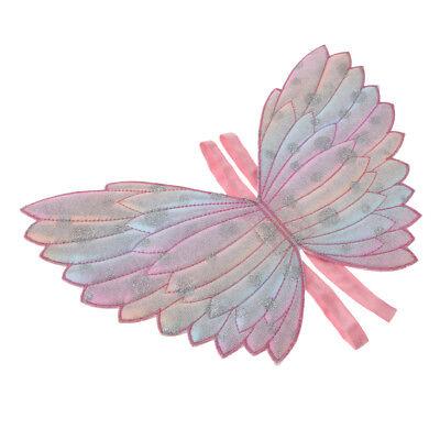 Kinder Fee Schmetterlingsflügel Kostüm für Mädchen Prinzessin Cosplay