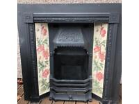 Cast Iron Fireplace Insert Victorian style