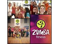ZUMBA FITNESS sessions in Dickens Heath and Sheldon!