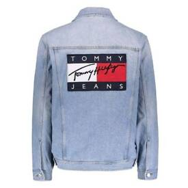 Tommy Jeans Denim Jacket size L by Tommy Hilfiger