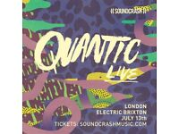 2 x Quantic Tickets Electric Brixton Friday 13th July 2018