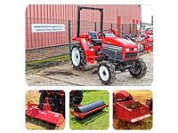 Mitsubishi MT270 (30hp) Compact Tractor Package