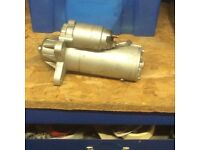 Ford transit starter motor & power steering pump reconditioned never used