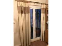Cream Curtains (2 pairs available)