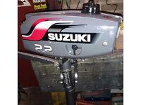 Suzuki DT 2.2hp outboard motor