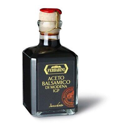 (Ferrarini Italian Balsamic Vinegar of Modena - Barrel Aged - Aceto Balsamico di )