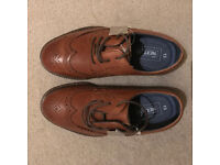 Small boys brown brogues - size 13. Brand new from Next.