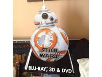 "A Cardboard Cut of BB-8 from Star Wars ""The Force Awakens"""