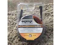 Orange Professional Cable 3metre