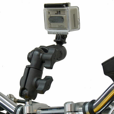RAM Motorcycle M8 Handlebar Fasten together Swivel Arm Camera Mount for GoPro Hero