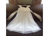 Bridesmaid / flower girl dress: Monsoon Estella Sparkle