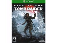 Rise of the tomb raider (Xbox one) *GAMES FOR SALE*
