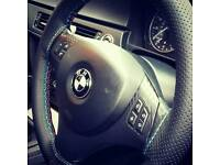 BMW e90 sports steering wheel