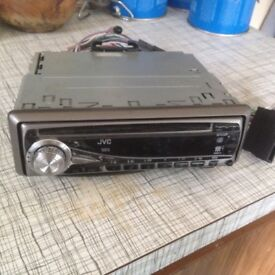Jvc cd/ radio 4x45 watts pre out!