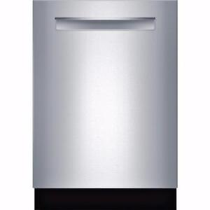 "24"" Dishwasher, quiet, stainless, Bosch"