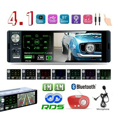 Bluetooth 1DIN Autoradio radio de coche MP3 manos libres car RDS USB...