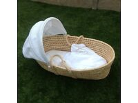 Cradle with Matress and hood